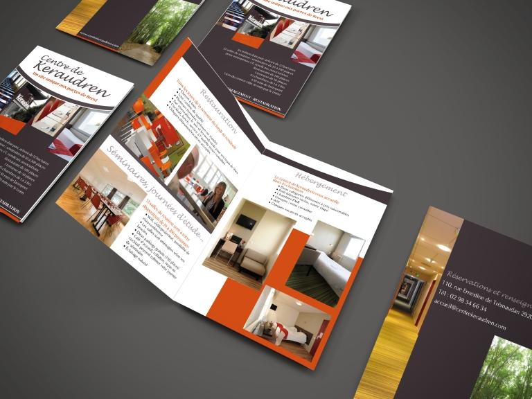 brochure pour centre accueil brest finistere bretagne tourisme